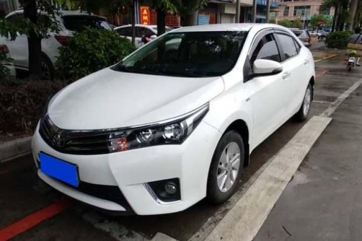 丰田 卡罗拉 1.6L CVT GL